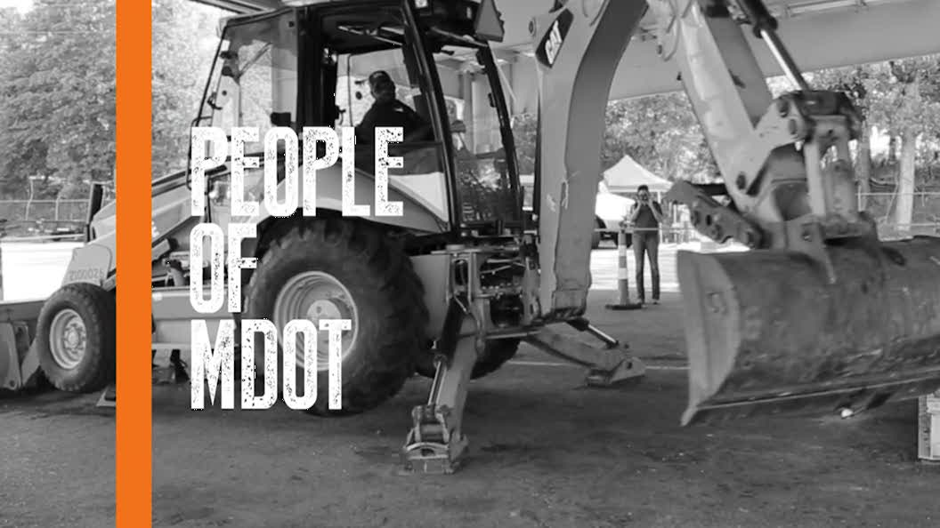 People of MDOT � Heavy Equipment Operator