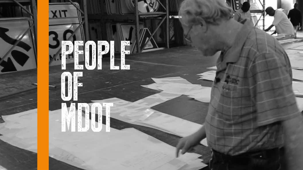 People of MDOT-Sign Shop